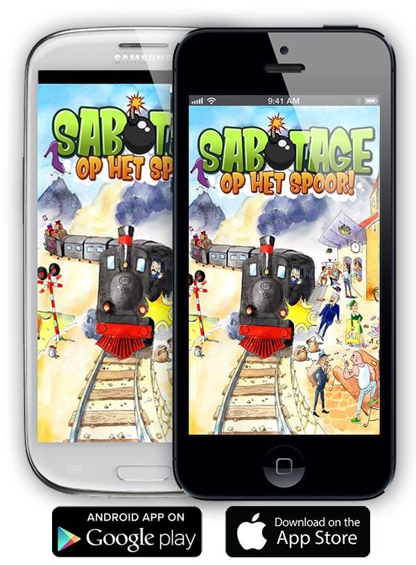 gratis app eindmusical sabotage op het spoor